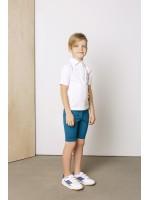 Balti polo marškinėliai trumpomis rankovėmis 2