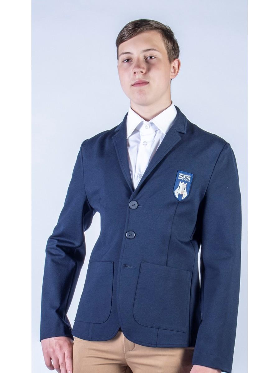 Švarkas vaikinams. Privaloma uniformos dalis.