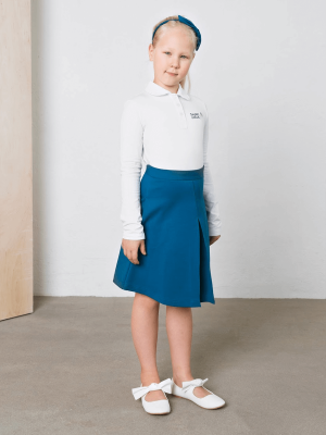 Mėlynas sijonas V-VIII klasei